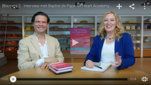 Interview with Baptist de Pape & Natalie Sylvette Bakker for Heart Academy