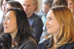 Ewa en Thamar op het Heart Academy event